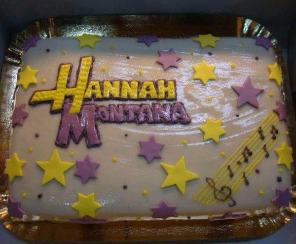 Bolo de aniversário da Hannah Montana