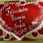 Bolo do Dia dos Namorados