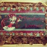 Bolo de aniversário com a Monster High