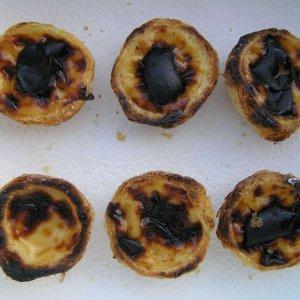 6 Mini Pastéis de Nata