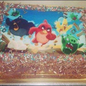 Bolo do Angry Birds