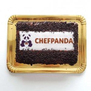 Bolo com Logótipo do ChefPanda