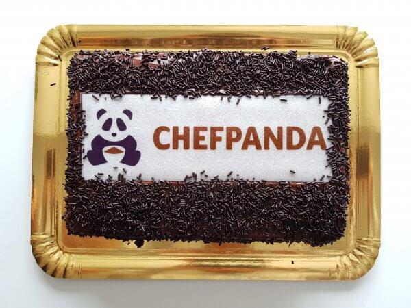 Brigadeiro com Logo do ChefPanda