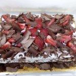 Bolo Morangos Chantilly Chocolate