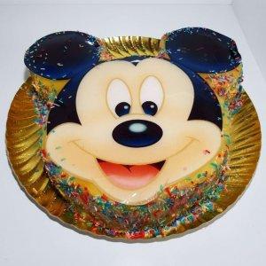 Bolo Da Cara Do Mickey Vista De Frente
