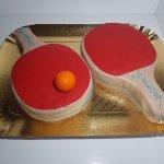 Raquetes De Ping Pong Vista De Frente