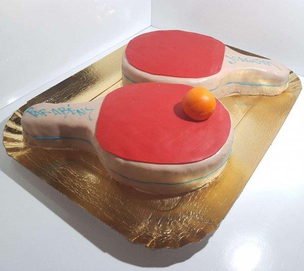Raquetes De Ping Pong Vista Em Perspetiva