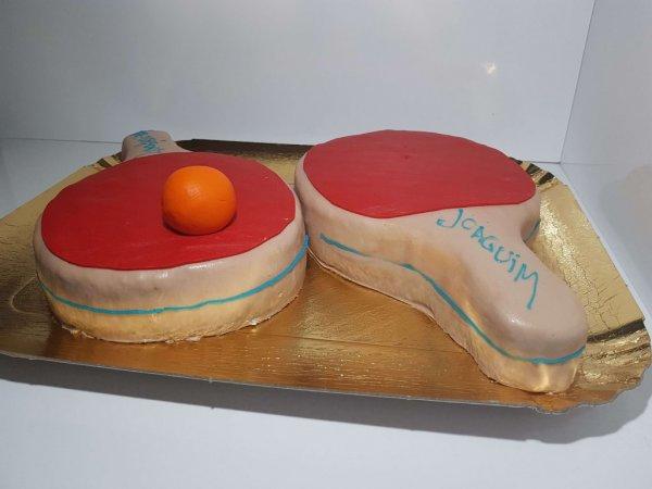 Raquetes De Ping Pong Vista Lateral