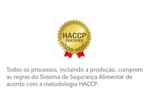 Haacp Certificado De Segurança Alimentar Chefpanda
