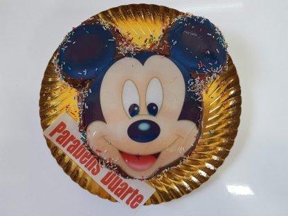 Bolo Com Cara Do Mickey Vista De Cima