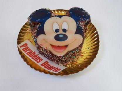 Bolo Com Cara Do Mickey Vista De Frente
