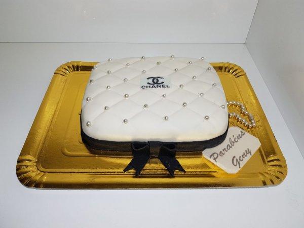 Bolo De Mala Chanel Vista De Frente