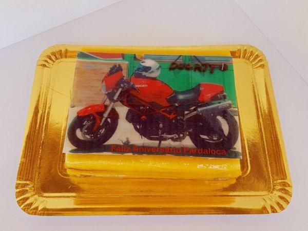 Bolo De Mota Ducati Vista De Frente