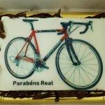 Bolo De Bicicleta Vista De Frente