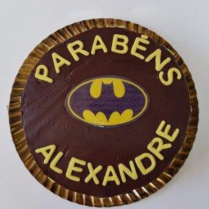 Bolo Do Batman Para Alexandre Vista De Cima