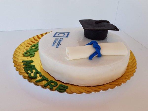 Bolo Foco Diploma De Faculdade
