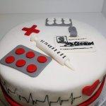 Bolo Para Enfermeiro Enfermagem Foco Seringa