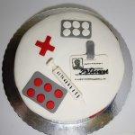 Bolo Para Enfermeiro Enfermagem Vista De Cima