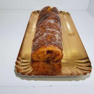 Torta De Ovo Vista De Frente