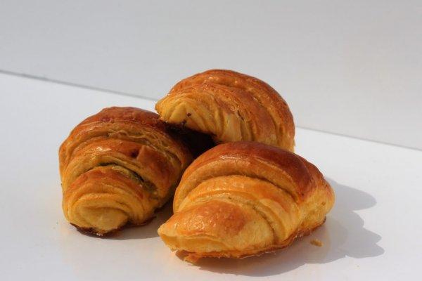 Mini Croissants De Chocolate Vista De Frente Min