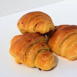 Mini Croissants De Chocolate Vista Em Perspetiva Min