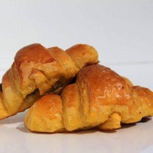 Mini Croissants De Chocolate Vista Lateral Min