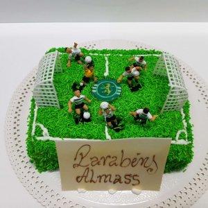 Bolo Campo De Futebol Sporting