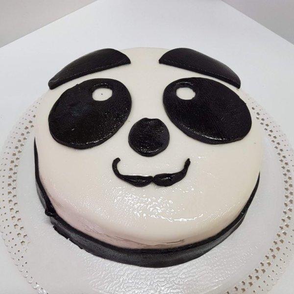 Bolo Cara De Panda