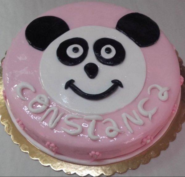 Bolo Com Cara De Panda