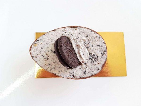 Ovo De Chocolate Mini Recheado De Oreo