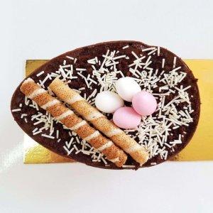 Ovo De Pascoa Com Chocolate Brigadeiro