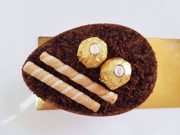 Ovo De Pascoa Com Ferrero Rocher