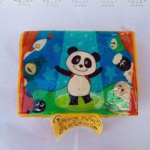 Bolo Com Imagem Do Panda