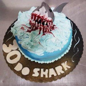 Bolo Com Tubarão