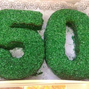 Bolo De 50 Anos Verde Sintra