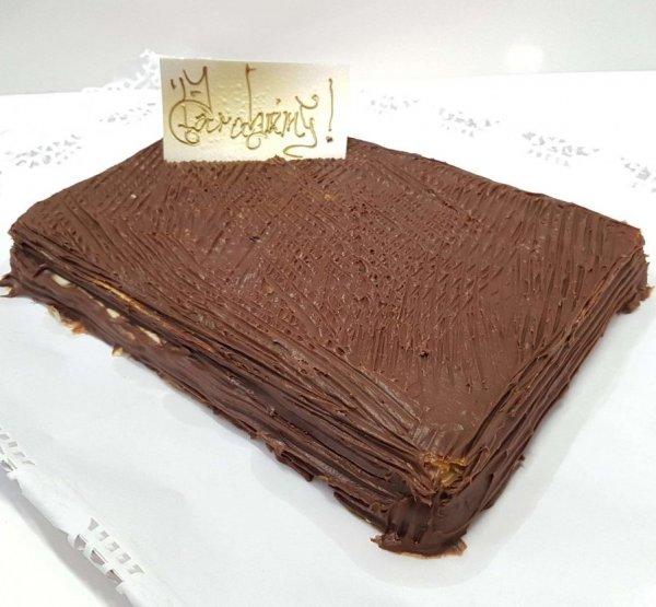 Bolo De Chocolate Retangular Simpes