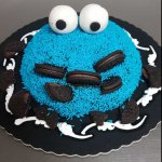 Bolo Do Cookie Monster
