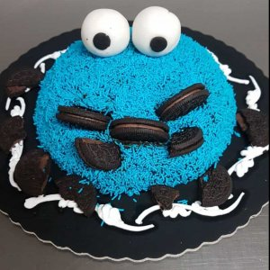 Bolo Do Cookie Monster