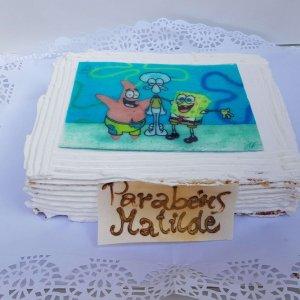 Bolo Do Sponge Bob