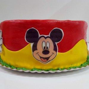 Bolo Do Mickey Com Cobertura De Pasta De Açucar Lisboa
