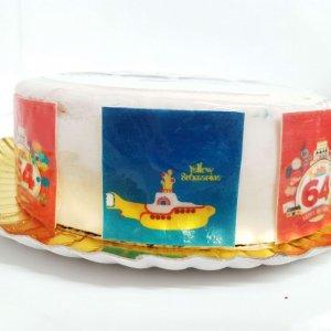 Bolo Dos Beatles Yellow Submarine