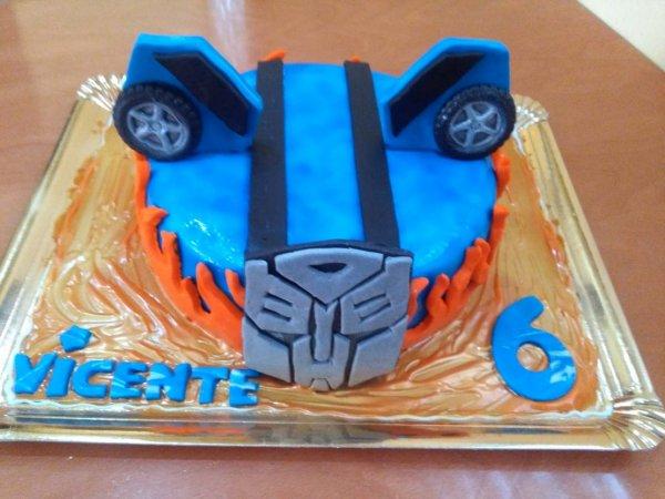 Bolo Dos Transformers Autobots