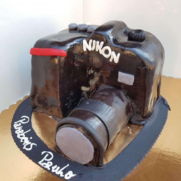 Bolo Máquina Fotográfica Nikon