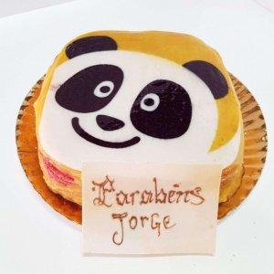 Bolo Panda Feliz