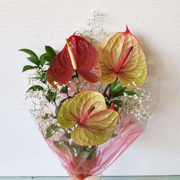 Bouquet Com Antúrios