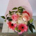 Bouquet Com Rosas, Margaridas, Gerberas E Beijinhos De Mãe