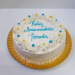 Naked Cake Com Moldura De Chantili