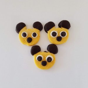 Bolachas De Chocolate Em Forma Do Mickey Lisboa