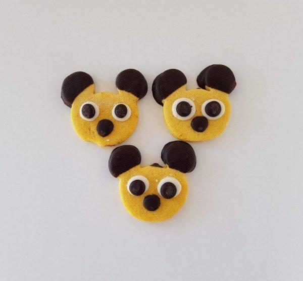 Bolachas De Chocolate Em Forma Do Mickey Lisboa