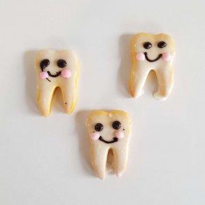Bolachas Em Forma De Dentes De Leite